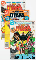 Modern Age (1980-Present):Superhero, New Teen Titans/Tales of the Teen Titans Group of 92 (DC, 1980-89)Condition: Average VF.... (Total: 92 Comic Books)
