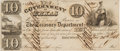 Miscellaneous, Government of Texas $10 Currency Note....