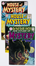 Silver Age (1956-1969):Horror, House of Mystery Group of 17 (DC, 1955-73) Condition: AverageGD.... (Total: 17 Comic Books)