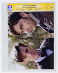 Memorabilia:Science Fiction, David Tennant and Matt Smith Doctor Who Autographed Photo - CGC Signature Series (2016)....