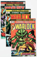 Bronze Age (1970-1979):Superhero, Strange Tales/Warlock Group of 13 (Marvel, 1973-76) Condition: Average FN.... (Total: 13 )