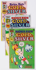 Bronze Age (1970-1979):Cartoon Character, Richie Rich Gold and Silver File Copies Box Lot (Harvey, 1976-82)Condition: Average NM-....