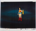 Animation Art:Production Cel, Super Friends Wonder Woman Production Cel (Hanna-Barbera, c.1970s-1980s).. ...