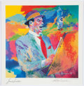 Miscellaneous Collectibles:General, Frank Sinatra Print Signed by Leroy Nieman....