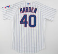 Baseball Collectibles:Uniforms, 2008 Rich Harden Game Worn Signed Chicago Cubs Jersey....