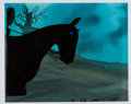 Animation Art:Production Cel, The Lord of the Rings Dark Rider and Horse Production Cel(Ralph Bakshi, 1978). ...