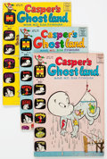 Bronze Age (1970-1979):Cartoon Character, Casper's Ghostland File Copies Box Lot (Harvey, 1965-77) Condition:Average VF/NM.... (Total: Approximately 200 Comic Books)...