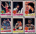Basketball Cards:Lots, 1977/78 Topps Basketball Complete Set (132)....