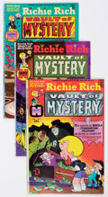 Bronze Age (1970-1979):Cartoon Character, Richie Rich Vault of Mystery File Copies Box Lot (Harvey, 1975-82)Condition: Average VF/NM-. (Total: Around 300 Comic Books)...