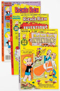 Bronze Age (1970-1979):Cartoon Character, Richie Rich Inventions File Copy Long Box Group (Harvey, 1977-82)Condition: Average NM-....