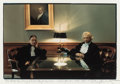 Photographs, Annie Leibovitz (American, b. 1949). Ruth Baeder Ginsburg & Sandra Day O'Connor, Supreme Court Justices, Lawyer's Lounge, ...