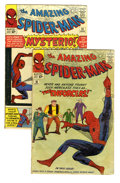 Silver Age (1956-1969):Superhero, The Amazing Spider-Man #10 and 13 Group (Marvel, 1964). Issue #10 (GD+) features the first appearance of Big Man and the Enf... (Total: 2 Comic Books)