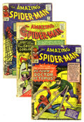Silver Age (1956-1969):Superhero, The Amazing Spider-Man Group (Marvel, 1964) Condition: Average FR. This group of key issues includes #11 (first appearance o... (Total: 5 Comic Books)