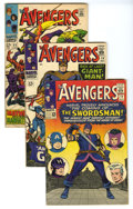 Silver Age (1956-1969):Superhero, The Avengers Group (Marvel, 1965-69) Condition: Average VG. A couple of Stan Lee yarns and plenty of masterful Roy Thomas ta... (Total: 14)