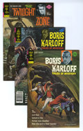 Silver Age (1956-1969):Horror, Boris Karloff Tales of Mystery and Others Box Lot (Gold Key, 1972-80) Condition: Average NM-. Full short box lot includes ...