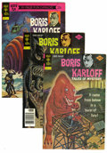 "Silver Age (1956-1969):Horror, Boris Karloff Tales of Mystery File Copies Box Lot (Gold Key,1973-79) Condition: Average VF. This ""spooky"" full short box i..."