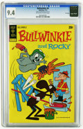 Bronze Age (1970-1979):Cartoon Character, Bullwinkle #8 File Copy (Gold Key, 1973) CGC NM 9.4 Off-white towhite pages. Overstreet 2005 NM- 9.2 value = $70. CGC censu...