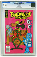 Bronze Age (1970-1979):Cartoon Character, Bullwinkle #24 File Copy (Gold Key, 1979) CGC NM 9.4 White pages.Overstreet 2005 NM- 9.2 value = $18. CGC census 12/05: 1 i...