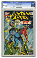 Silver Age (1956-1969):Superhero, Captain Action #3 (DC, 1969) CGC NM- 9.2 Cream to off-white pages. Gil Kane and Dick Giordano cover. Kane and Wally Wood art...