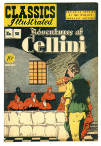 Classics Illustrated #38 Adventures of Cellini -- First Edition (Gilberton, 1947) Condition: VF-. Overstreet 2005 VF 8.0...