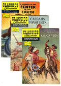Silver Age (1956-1969):Classics Illustrated, Classics Illustrated First Editions Group (Gilberton, 1952-61)Condition: Average FN. Included are #112 (Adventures of Kit C...(Total: 7 Comic Books)