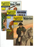 Silver Age (1956-1969):Classics Illustrated, Classics Illustrated Group (Gilberton, 1956-64) Condition: AverageVF. Includes #135 (Waterloo, two copies, one first editio...(Total: 5 Comic Books)