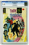 Bronze Age (1970-1979):Horror, Dark Shadows #27 File Copy (Gold Key, 1974) CGC NM 9.4 Off-white towhite pages. Overstreet 2005 NM- 9.2 value = $60. CGC ce...