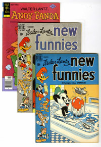 Dell/Gold Key Golden to Bronze Age Andy Panda File Copies Box Lot (Dell/Gold Key, 1949-77) Condition: Average VF-. Andy...