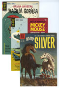 Silver Age (1956-1969):Miscellaneous, Dell/Gold Key Miscellaneous Comics Group (Dell/Gold Key, 1957-72) Condition: Average VF/NM. This full short box lot includes...