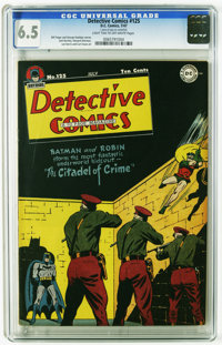 Detective Comics #125 (DC, 1947) CGC FN+ 6.5 Light tan to off-white pages. Artists include Jack Burnley, Howard Sherman...