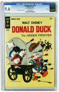 Silver Age (1956-1969):Cartoon Character, Donald Duck #110 File Copy (Gold Key, 1966) CGC NM+ 9.6 Off-white pages. Tony Strobl cover and art. This is currently the hi...