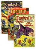 Silver Age (1956-1969):Superhero, Fantastic Four Group (Marvel, 1963-64). Includes #21 (intro of the Hate-Monger, first Nick Fury crossover, VG), 22 (VG), 23 ... (Total: 6 Comic Books)