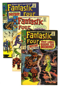 Fantastic Four #66-80 Group (Marvel, 1967-68) Condition: Average FN/VF. Fateful cosmic goings-on and superhero guest app...