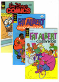 Bronze Age (1970-1979):Cartoon Character, Fat Albert File Copies Box Lot (Gold Key/Whitman, 1975-82)Condition: Average NM-. Hey, Hey, Hey, this full short box(c...