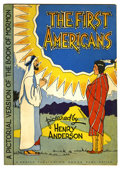 """Golden Age (1938-1955):Religious, The First Americans #nn (Herald Publishing House Publication, 1947) Condition: VF-. """"A Pictorial Version of the Book of Morm..."""