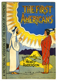 "The First Americans #nn (Herald Publishing House Publication, 1947) Condition: VF-. ""A Pictorial Version of the Boo..."