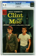 Silver Age (1956-1969):Adventure, Four Color #889 Clint and Mac - File Copy (Dell, 1958) CGC NM- 9.2 Cream to off-white pages. Featuring characters from Disne...