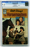 Silver Age (1956-1969):Miscellaneous, Four Color #1260 The Horsemasters - File Copy (Dell, 1961) CGC NM- 9.2 Off-white pages. Annette Funicello photo cover. Overs...