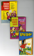 Bronze Age (1970-1979):Miscellaneous, Golden Comics Digest Little Lulu Group (Gold Key, 1971-79)Condition: Average FN/VF. Includes #19 (two copies), 23, 27(thre...