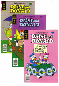 Gold Key Cartoon Character Box Lot (Gold Key, 1972-81) Condition: Average VF/NM. Full short box lot includes multiple co...