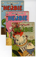 Silver Age (1956-1969):Humor, Herbie Group (Various, 1964-92). Includes Herbie (ACG series) #3, 4, 5, 16, 18, 19, and 23 (all VG); A+ Comics series #1... (Total: 11 Comic Books)