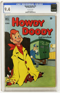 Golden Age (1938-1955):Humor, Howdy Doody #12 (Dell, 1951) CGC NM 9.4 Off-white pages. The grade here is the highest that CGC has awarded yet for a copy o...