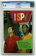 Silver Age (1956-1969):Miscellaneous, I Spy #6 File Copy (Gold Key, 1968) CGC NM 9.4 Off-white to white pages. Photo cover of Robert Culp and Bill Cosby. Overstre...