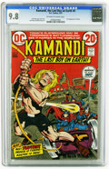 Bronze Age (1970-1979):Science Fiction, Kamandi, the Last Boy on Earth #4 (DC, 1973) CGC NM/MT 9.8 Off-white to white pages. First appearance of Prince Tuftan of th...