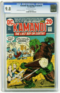 Bronze Age (1970-1979):Science Fiction, Kamandi, the Last Boy on Earth #5 (DC, 1973) CGC NM/MT 9.8 Off-white to white pages. Story, cover, and art by Jack Kirby. Ov...