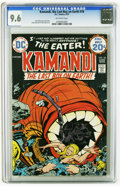 Bronze Age (1970-1979):Science Fiction, Kamandi, the Last Boy on Earth #18 (DC, 1974) CGC NM+ 9.6 Off-white pages. Jack Kirby cover and story. Kirby and D. Bruce Be...