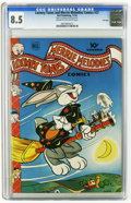 Golden Age (1938-1955):Cartoon Character, Looney Tunes and Merrie Melodies Comics #37 File Copy (Dell, 1944) CGC VF+ 8.5 Cream to off-white pages. Bugs Bunny appears....