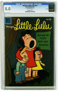Silver Age (1956-1969):Cartoon Character, Marge's Little Lulu #129 File Copy (Dell, 1959) CGC VF 8.0 Off-white pages. Overstreet 2005 VF 8.0 value = $46. CGC census 1...