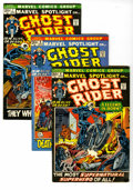 Bronze Age (1970-1979):Superhero, Marvel Spotlight and Ghost Rider Group (Marvel, 1972-74) Condition: Average VG. Ghost Rider's first appearance in Marvel S... (Total: 20 Comic Books)