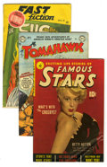 Golden Age (1938-1955):Miscellaneous, Miscellaneous Golden and Silver Age Group (Various Publishers, 1949-65). Includes Tomahawk #25 (FN+); Fast Fiction #... (Total: 4 Comic Books)